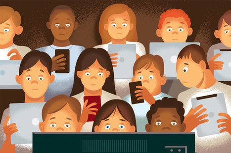 Screen Addiction Is Taking a Toll on Children | learning21andbeyond | Scoop.it