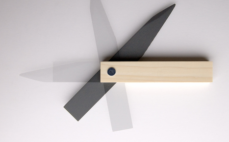 A Wicked Letter Opener That's (Possibly) Made Of Old Letters | Creative Feeds | Scoop.it