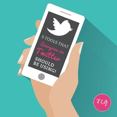 5 Tools Everyone on Twitter Should Be Using | Social Media Marketing | Scoop.it