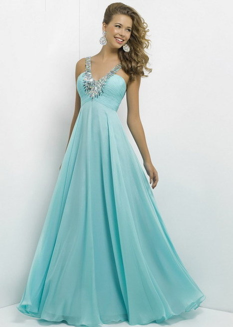 Aqua Long Pleated Bust Blush 9777 Beaded V Neck Evening Dress [Blush 9777 Aqua] - $203.00 : Cheap Prom Dresses 2015 For Sale,Save Up to 60% | long prom dresses | Scoop.it