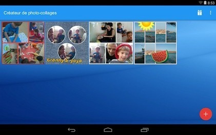 Créateur de photo-collages – Applications Android sur GooglePlay | Marketing Digital et Internet | Scoop.it