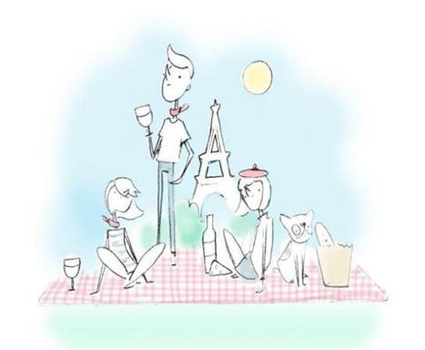 El picnic chic de Paris Picnic, para recuperar el placer de comer descalzos sobre la hierba - ReservaMesa.travel | Reservarestaurantes.com | Scoop.it