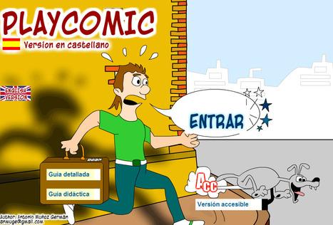 Haciendo Historientas con PLAYCOMIC | Teldenet | Scoop.it