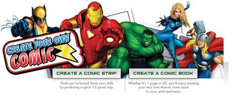 Create Your Own Comic- Marvel.com | Education | Scoop.it