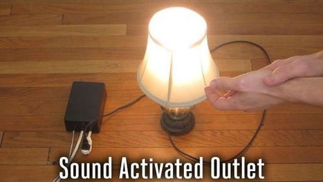 Sound Activated Outlet | Arduino progz | Scoop.it