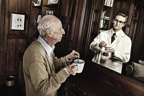 Ảnh người lớn tuổi nhìn lại thời trẻ qua gương độc đáo | Truyền tin từ tâm | Scoop.it