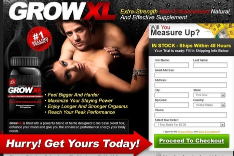 Interested In Grow XL?...Read Here First Before You Try It! | How to Build Up Sexual Stamina | Scoop.it