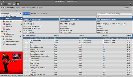 Vue globale de 3 lecteurs audio dans Ubuntu Linux | Michtoblog | Linux, Réseaux | Scoop.it