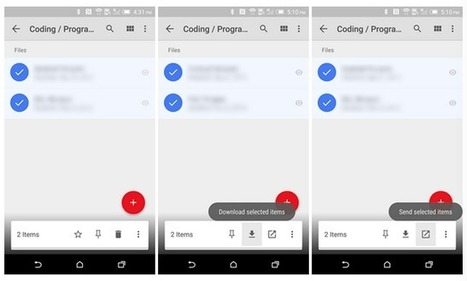 Google Drive updated to support batch downloads [APK Download] | ANALYZING EDUCATIONAL TECHNOLOGY | Scoop.it
