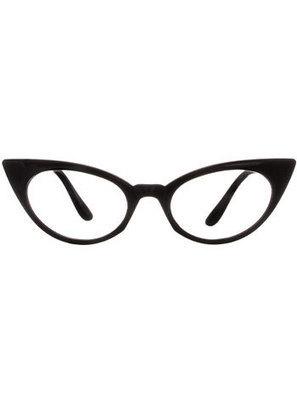 Office Flirt Cateye Glasses in Noir   Invanity   Scoop.it