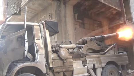 L'arme secrète des djihadistes en Syrie? Un canon du XIXe siècle... | World News | Scoop.it