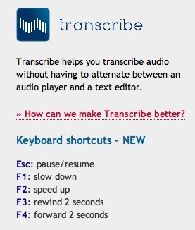 The Perfect Assistant for Transcribing The Audio Track of Your Interviews: Transcribe | Into the Driver's Seat | Scoop.it