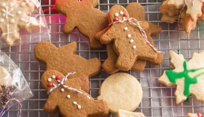 Recipe : Gingerbread Cookies Recipe | FoodieDoc says: | Scoop.it