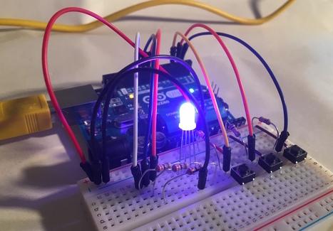 LED : piloter, faire varier l'intensité, LED RGB (Arduino) | Ressources pour la Technologie au College | Scoop.it