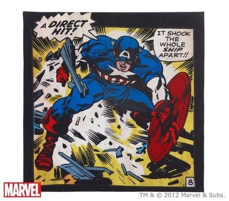 "Holiday Gift Guide: Superhero Pinboards - ComicsAlliance | Jack ""King"" Kirby 