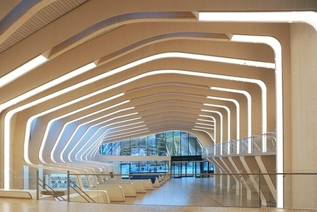 Vannesla library by Helen & Ward architects | The Information Professional | Scoop.it