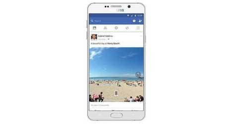 Facebookva intégrer les photos à 360° dans son newsfeed | Réseaux sociaux | Scoop.it