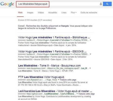 Rechercher et trouver des ebooks avec Google   François MAGNAN  Formateur Consultant   Scoop.it