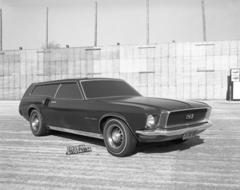 Design History: Ford Mustangs that Never Were - Car Body Design | DCBs Scoop.It | Scoop.it