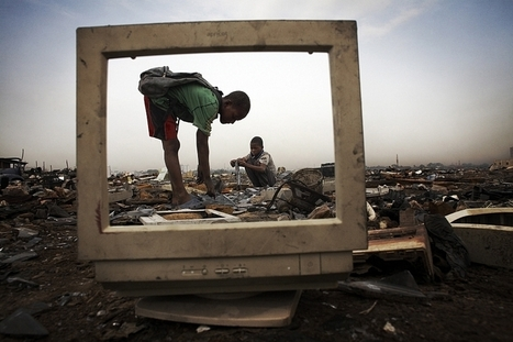 Comment l'Europe fait passer ses déchets informatiques pour des dons « humanitaires » | Allicansee | Scoop.it