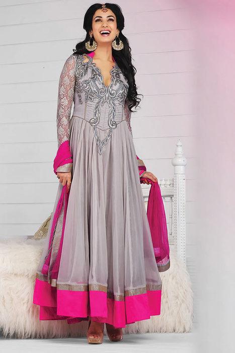 Fancy Anarkali Suits from India | Bollywood Anarkali Salwar Kameez | Scoop.it