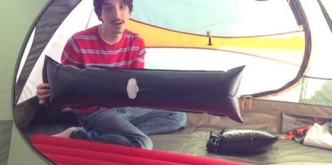 Windcatcher, le matelas gonflable le plus rapide au monde - Le Nouvel Observateur | Crowdfunding | Scoop.it