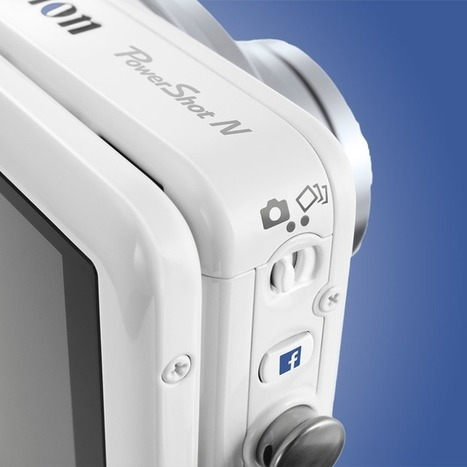 Canon Debuts Its First 'Facebook Ready' Camera | ToxNetLab's Blog | Scoop.it