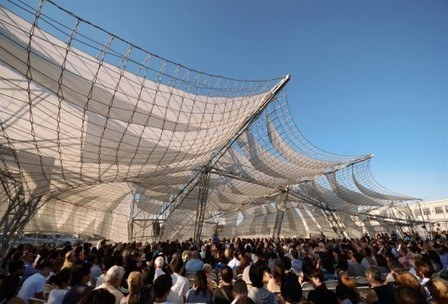 [ Los Angeles, California, USA] Netscape: SCI-Arc Graduation Pavilion 2011 / Oyler Wu Collaborative with SCI-Arc | The Architecture of the City | Scoop.it
