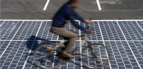 """Colas dévoile sa """"route solaire"""", capable de produire de l'électricité   Prévention et Signalisation Routière   Scoop.it"""