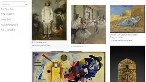 Musées. Images d'art, le site Internet pour découvrir les collections | Clic France | Scoop.it
