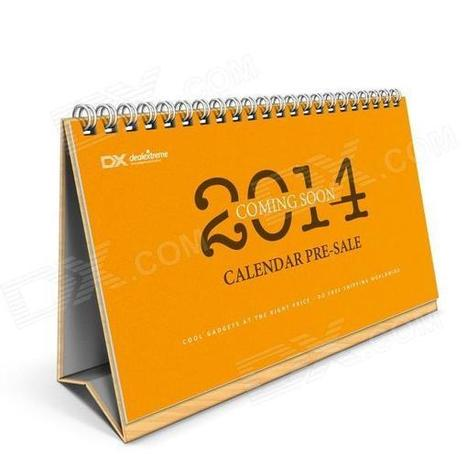 Pre-sale DX 2014 Desk Calendar with 12 Months' Coupon Codes (Value USD$ 200) | Coolest Gadgets at Incredibly Low Price | Scoop.it