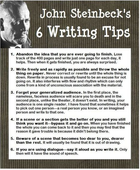 On Writing - Derrolyn Anderson | Writing tips | Scoop.it
