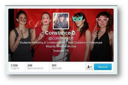 Constance, recrutée sur Twitter en moins d'1 heure ! | Change management and HR solutions, what's new ? | Scoop.it