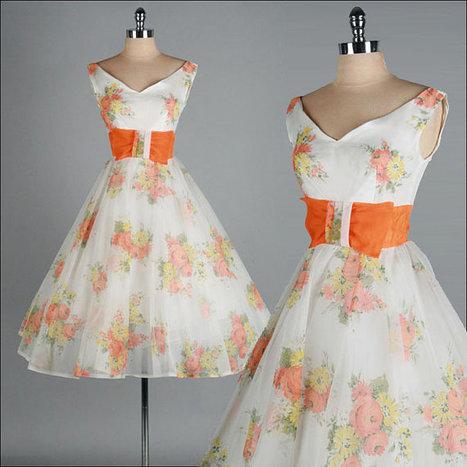 Vintage 1950s Dress | Vintage! | Scoop.it