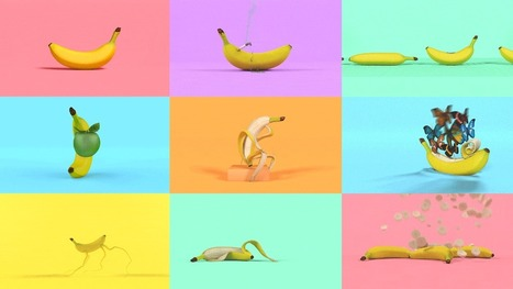 """Bananas"", une série de GIFs amusants interrogeant la nature humaine - Communication (Agro)alimentaire 