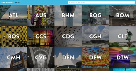 Airport Codes | Geography Education | Scoop.it