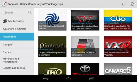 Tapatalk HD Android için Forum Uygulaması | Güncel Android Blogu | Android Uygulamaları | Scoop.it
