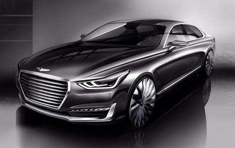 G90, la berline de luxe préfigurant la nouvelle marque Genesis | J'écris mon premier roman | Scoop.it