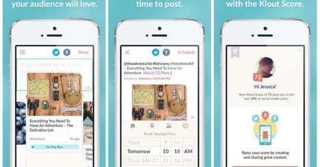 Klout Launches New iOS App Geared toward Content Marketers | MarketingHits | Scoop.it