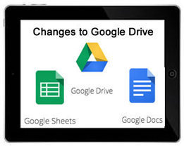 Changes to Google Drive on an iPad | iPads in Education | Scoop.it
