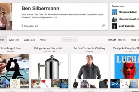 Ben Silbermann, Ez Pudewa, And 3 Other Pinterest Accounts To Follow Now  - Huff Post | Everything Pinterest | Scoop.it
