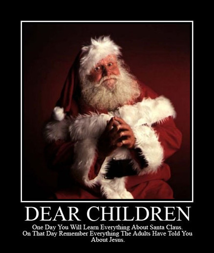 Debunking Santa Is Just Practice for God | Friendly Atheist | Modern Atheism | Scoop.it