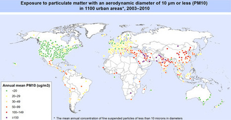 Air Pollution Killed 7 Million in 2012, According to WHO | A Level Geog | Scoop.it