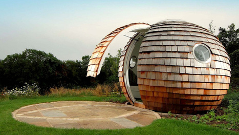 Tiny, enclosed pod offices for the post-apocalyptic web worker | Global Growth Relations | Scoop.it