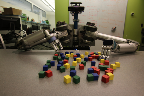 Robots Get Creative To Cut Through Clutter | Amazing Science | Scoop.it