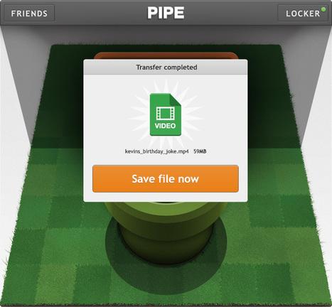 Pipe pour Facebook : le partage de fichiers entre amis jusqu'à 1 Go - Clubic | le 2eme souffle de la téléphonie | Scoop.it