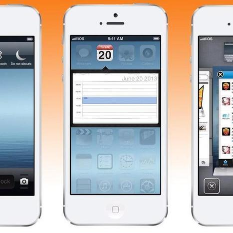 iOS 7: Is This What Apple's Next OS Will Look Like? [VIDEO] | Higher Ed Social Media Marketing | Scoop.it