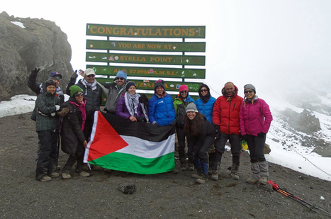 Teenage Palestinian amputees top Kilimanjaro | News You Can Use - NO PINKSLIME | Scoop.it