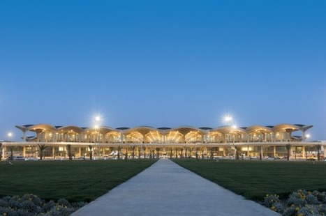[Amman, Jordan] Queen Alia International Airport / Foster + Partners | The Architecture of the City | Scoop.it