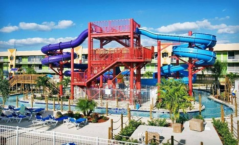 Flamingo Waterpark Resort- Kissimmee, Fl from $42/night | Groupon Getaways Orlando #Travel | I Could Use a Deal | hotels | Scoop.it